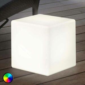 8 Seasons Vonkajšie dekoračné LED svetlo Shining Cube 43 cm