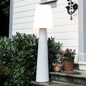 8 Seasons Solárna stojaca LED lampa č. 1, kameň