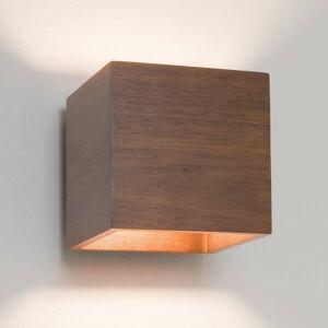 Astro Astro Cremona – drevené nástenné svetlo tvar kocky