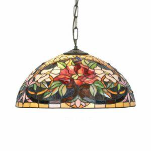 Artistar Závesná lampa v štýle Tiffany Ariadne 2xE27