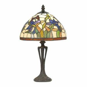Artistar Decentná stolná lampa ELANDA v štýle Tiffany 41cm