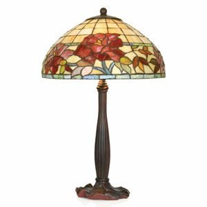 Artistar Ručne vyrobená stolná lampa Esmee v štýle Tiffany