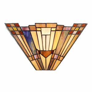 Artistar Nástenné svietidlo Esmea navrhnuté v štýle Tiffany