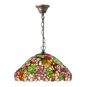 Artistar Závesná lampa KT9810+C2 v štýle Tiffany