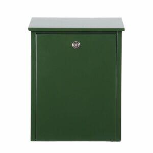 Juliana Jednoduchá poštová schránka z ocele, zelená