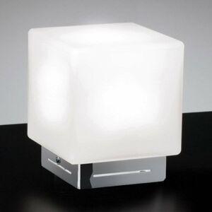 Ailati Stolná lampa Cubis, chróm