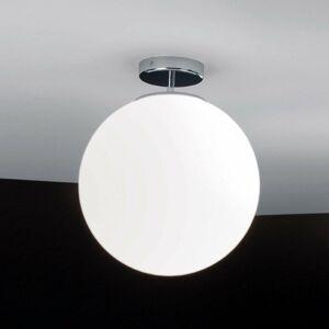 Ailati Sklenené stropné svietidlo Sferis 30cm chróm