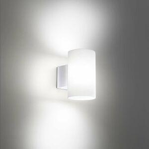 Ailati Vonkajšie nástenné LED svietidlo Bianca, biele