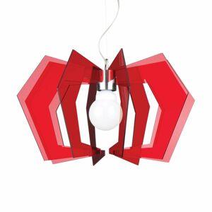 Artempo Italia Červená závesná lampa Spider
