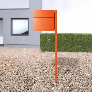 Absolut/ Radius Letterman IV poštová schránka so stojanom oranžová