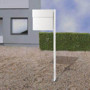 Absolut/ Radius Letterman IV poštová schránka so stojanom biela
