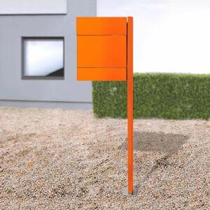 Absolut/ Radius Schránka Letterman V noviny + stĺp oranžová