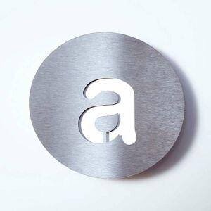 Absolut/ Radius Číslo domu z ušľachtilej ocele Round – a