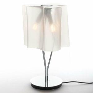 Artemide Stolná lampa Artemide Logico hodvábny lesk/chróm