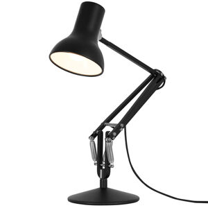 Anglepoise Anglepoise Type 75 Mini stolná lampa čierna zamat