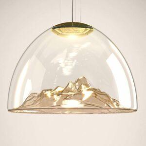 Axo Light Axolight Mountain View závesné LED, jantár–zlato