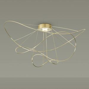 Axo Light Axolight Hoops 3 stropné LED svietidlo, zlaté