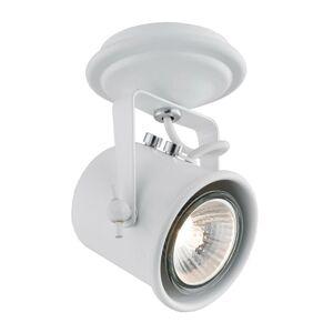 EULUNA Stropné svietidlo Canico, 1-plameňové, biele