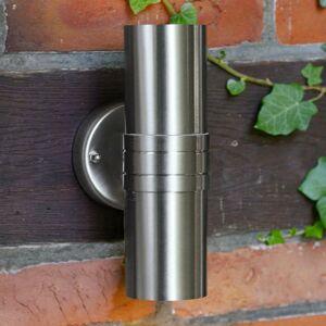Brilliant Hanni – vonkajšie nástenné LED svetlo odolné