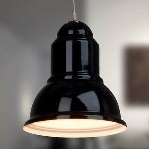 Brilliant Čierna závesná lampa Almira