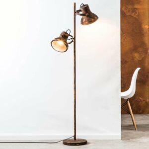 Brilliant Dvoj-plameňová stojaca lampa Frodo