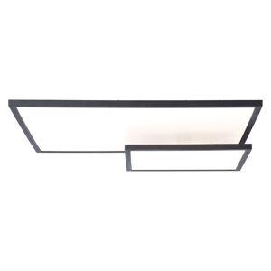 Brilliant Stropné LED svietidlo Bility dĺžka 62cm rám čierny