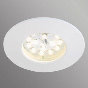 Briloner Biele zapustené LED svetlo Felia, IP44