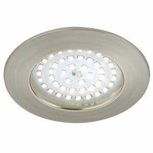 Briloner Silné zapustené LED svetlo Elli, matný nikel