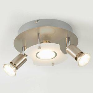 Briloner Stropné LED svietidlo Štart s 2 otočnými svetlami