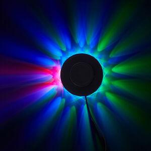 Briloner RGB svetelný LED lúč deko lampa hudobný snímač