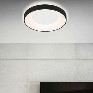 Briloner Stropné LED Rondo CCT diaľkové ovládanie, čierne