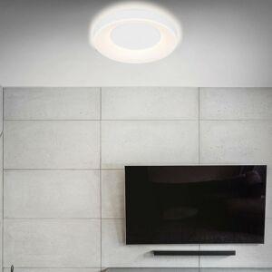 Briloner Stropné LED Rondo CCT diaľkové ovládanie, biele