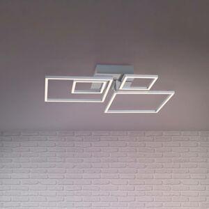 Briloner Stropné LED Frames 2 malé/2 veľké štvorce