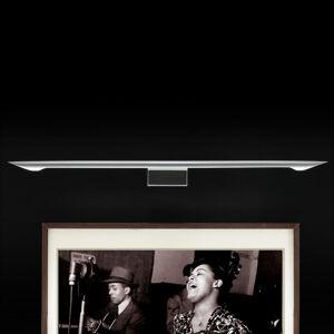 B.lux Obrazové nástenné svetlo Eliana W Picture sivé