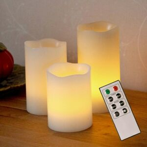 Best Season LED ozdobná sviečka Candle Wax z vosku