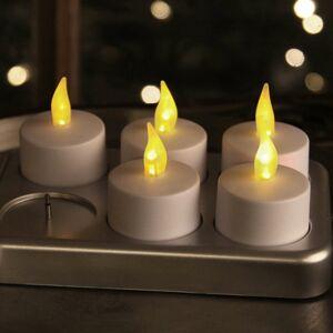 Best Season Čajová sviečka T-Light LED súprava 6 ks