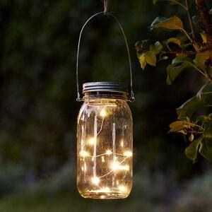 Best Season Jamjar – skvelá solárna dekoračná lampa zo skla