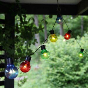 Best Season Farebná svetelná LED reťaz Partaj, 16 žiaroviek