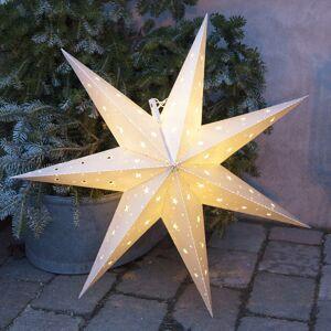 STAR TRADING IP44 deko hviezda Alice interiér a exteriér, biela