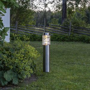 Best Season Solárne LED svietidlo Capri stĺpikové svietidlo
