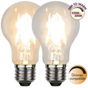 Best Season LED E27 A60 4W, vlákno 3 000 K, dim to warm