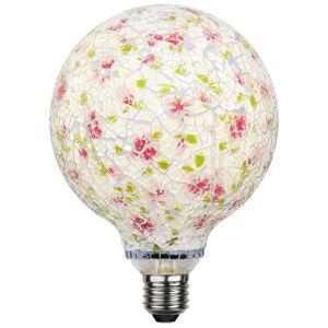 Best Season LED G130 E27 4W Mosaic ružová/zelená 3.200K