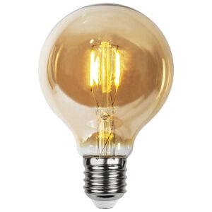 Best Season LED žiarovka E27 0,23W G80 24V amber, 4 ks