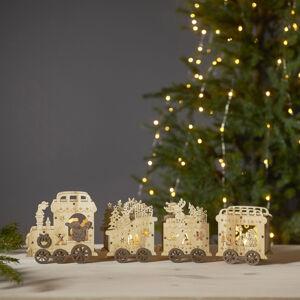 Best Season LED dekoratívne svetlo Yuletide ako vianočný vlak