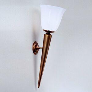 Berliner Messinglamp Nástenná pochodeň WILLI z mosadze