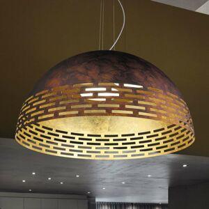 BRAGA Účinné LED kovové závesné svietidlo Greka