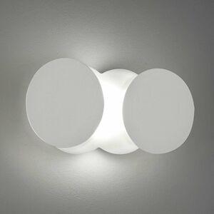 BRAGA Variabilné nástenné LED svietidlo Nuvola, biele