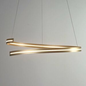 BOPP Bopp Break LED závesné svietidlo 70cm jasnozlaté