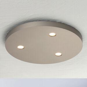 BOPP Bopp Close stropné LED svietidlo 3pl okrúhle taupe