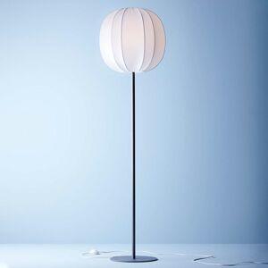 BELID Stojaca lampa Neo textilné tienidlo grafit/biela